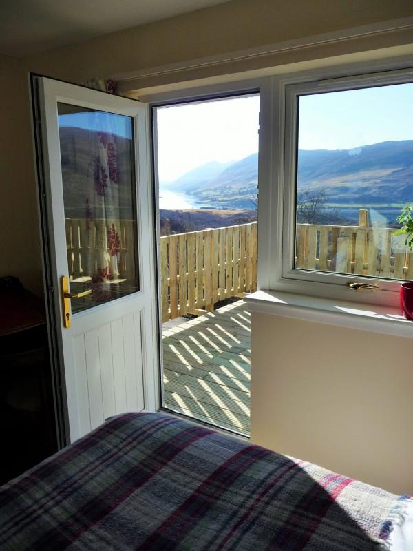 Master bedroom balcony