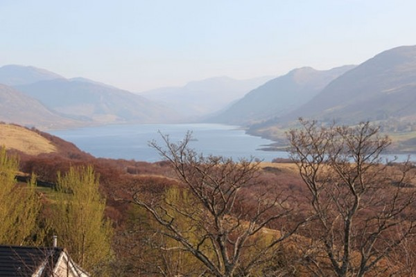 View up Loch Broom from the House